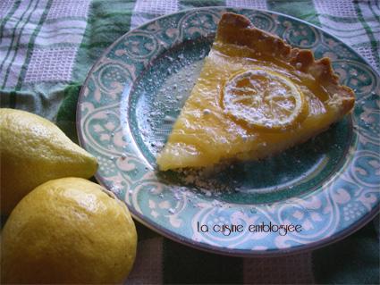 Tarte au citron si facile la cuisine emblogu e - La cuisine de bernard tarte au citron ...